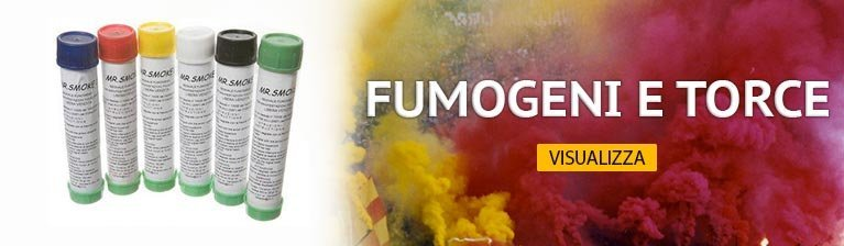 Slide 4 Fumogeni e Torce