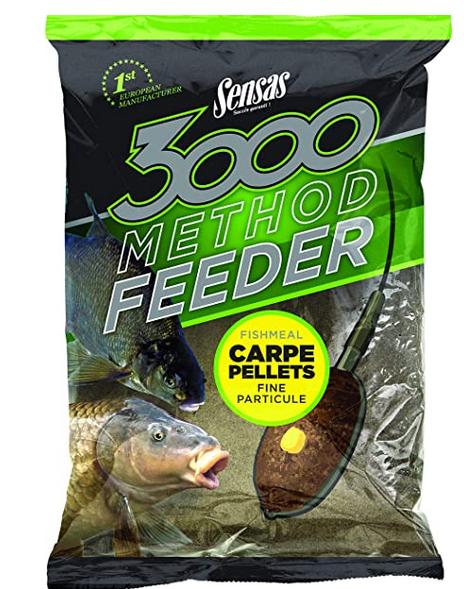 3000 Method Carpe Pellets Sensas SEN70721