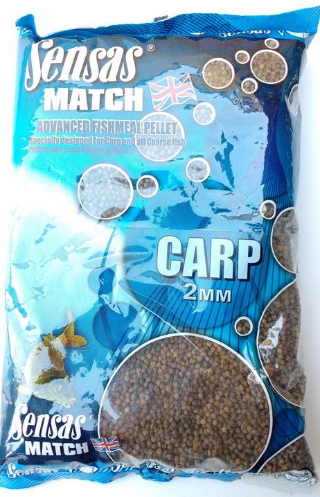 Sensas Pellets Carp 2 mm 1 kg SEN66012