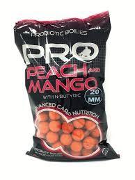 Boilies Starbaits Peach & Mango 20mm SEN39336