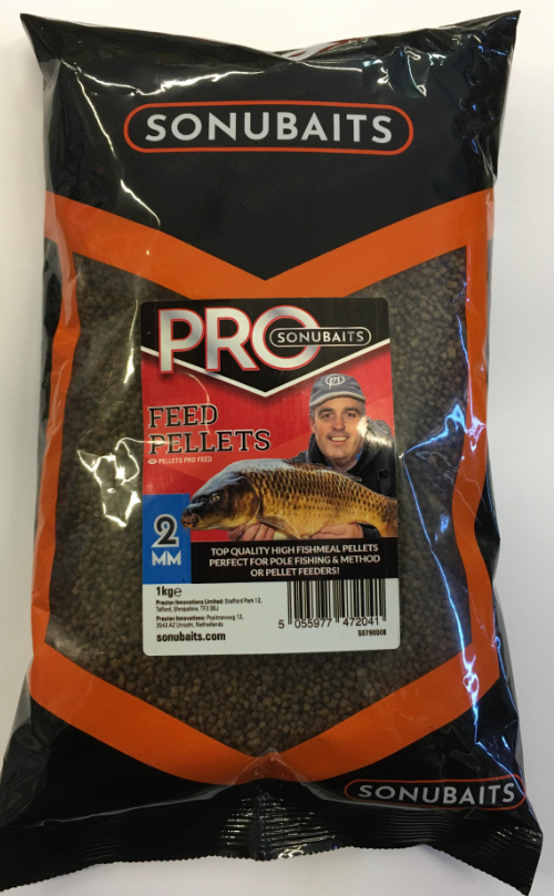 SONUBAITS Pro Feed Pellets 2 mm BETS0790008