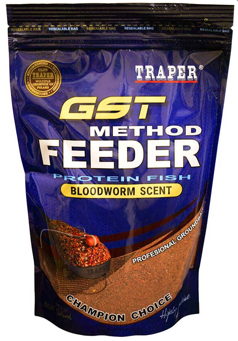 TRAPER GST METHOD FEEDER BLODWORM WILTR0232