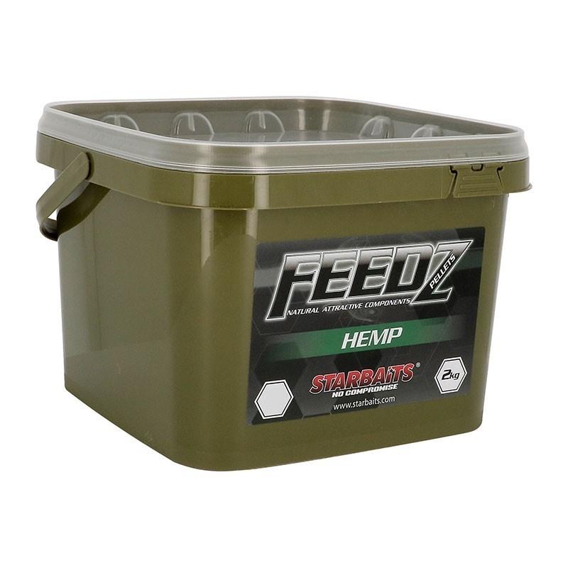 FEEDZ HEMP PELLETS 4 MM 2 KG SEN64598
