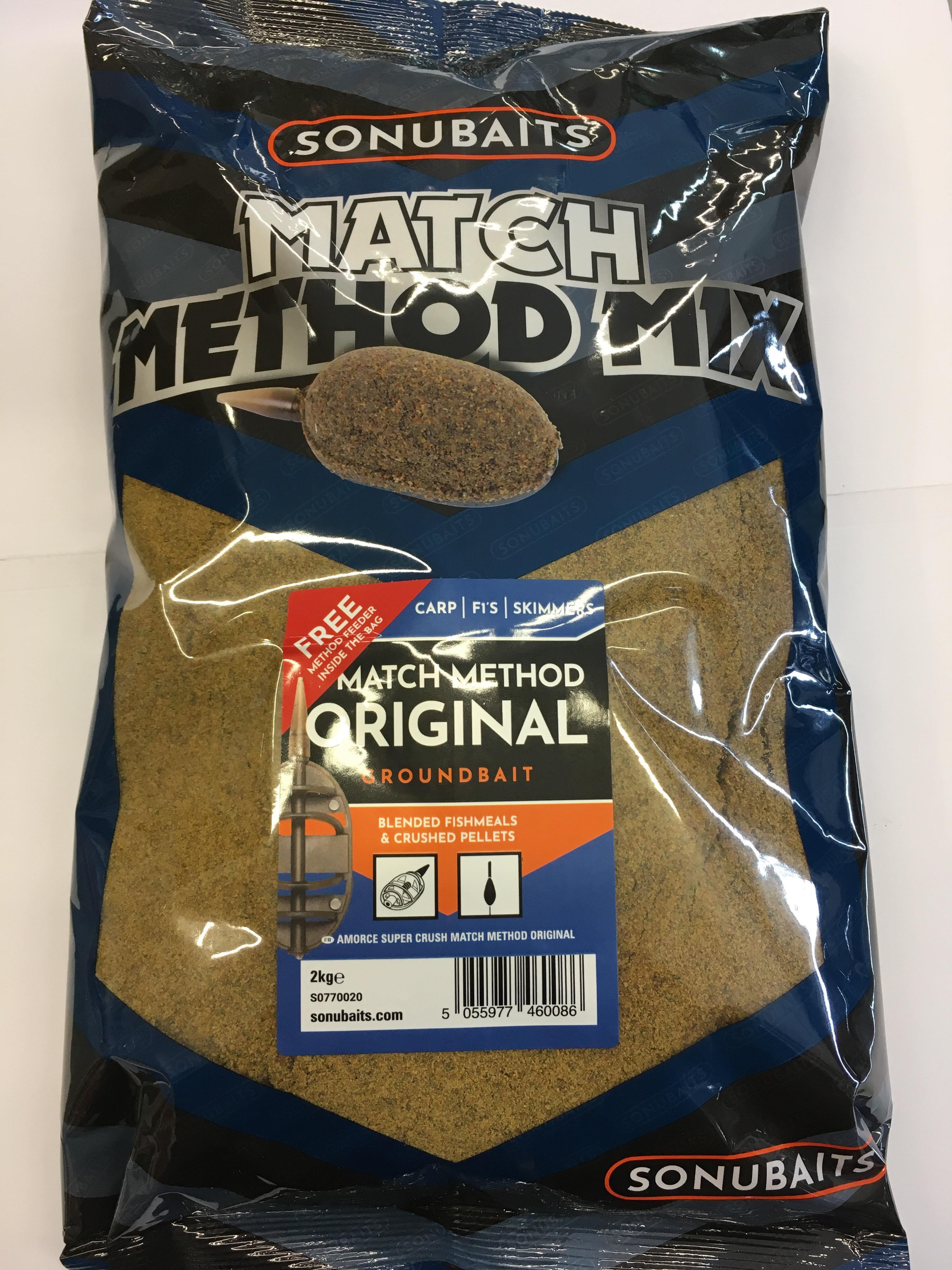 Sonubaits Match Method Mix 2kg BETS0770020