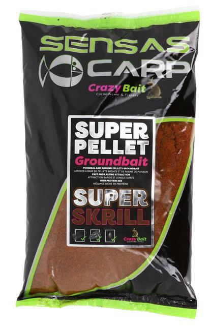 Super Pellet GROUNDBAIT Super Skrill Sensas SEN43837