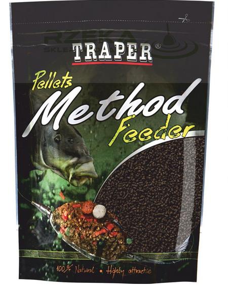 TRAPER METHOD FEEDER PELLET 2 MM – 500 GR WILPEL2MM
