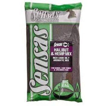 Sensas Big Bag Halibut & Hemp Mix 2 kg SEN54233