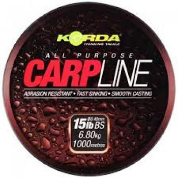 Korda Filo  CarpLine  1000 mt 15 lb 0.40 KORKCM15