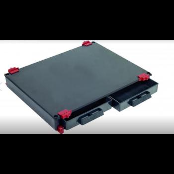 COLMIC Modulo 2 cassetti  tutto nero COLPA0852