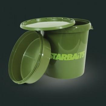 Secchio + baccinella + coperchio 33 lt STARBAITS Bucket SEN06123