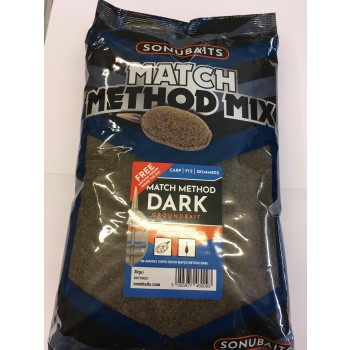 Sonubaits Match Method Mix Dark 2 kg BETS0770021