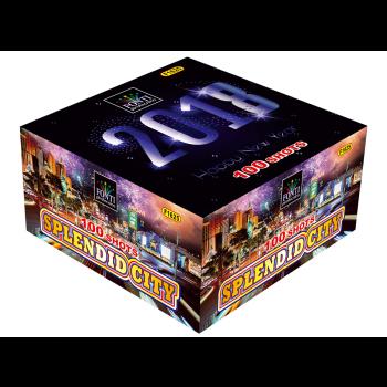 Spettacolo Splendid City 100 tubi di lancio FONF1625