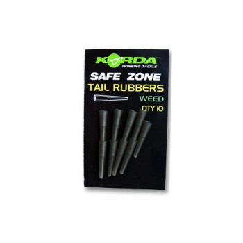 Tail Rubbers Weed Green KORDA KORKRW