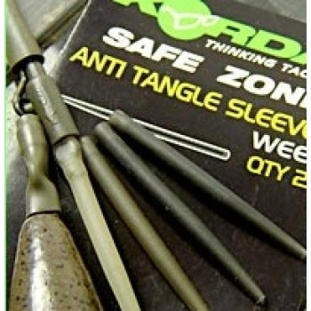 Safe Zone Anti Tangle Sleeves Weed Green KORDA KORKATSG