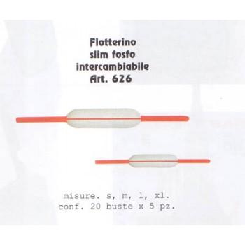 Flotterino VINCENT slim fosforescente VIN626