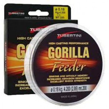 Filo Gorilla Feeder Tubertini 200 mt  TUB2335
