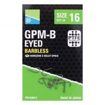 PRESTON Ami GPM-B eyed barbless BETP015