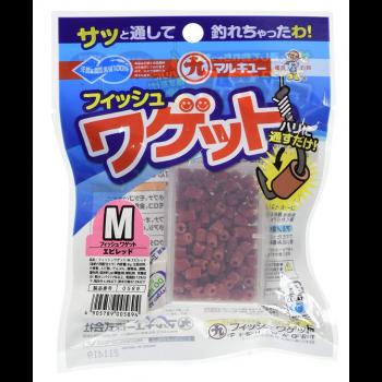 MARUKYU FISH WAGET M RED COG0589