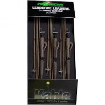 Korda Rig Leadcore Leader-Hybrid Lead Clip QC Gravel KORLLHQG