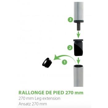 RIVE kit Prolunga per gambe D25 MOS702385