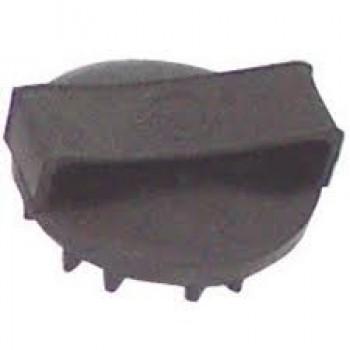 Striglia in gomma con punte UMBAG00011