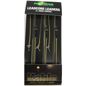 Korda Ring Leadcore Swivel Gravel KORLLRSG