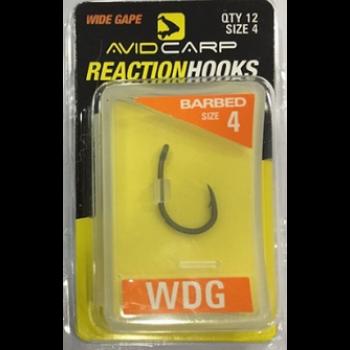 Avid Ami WDG Carp Reaction Hooks BETWDG
